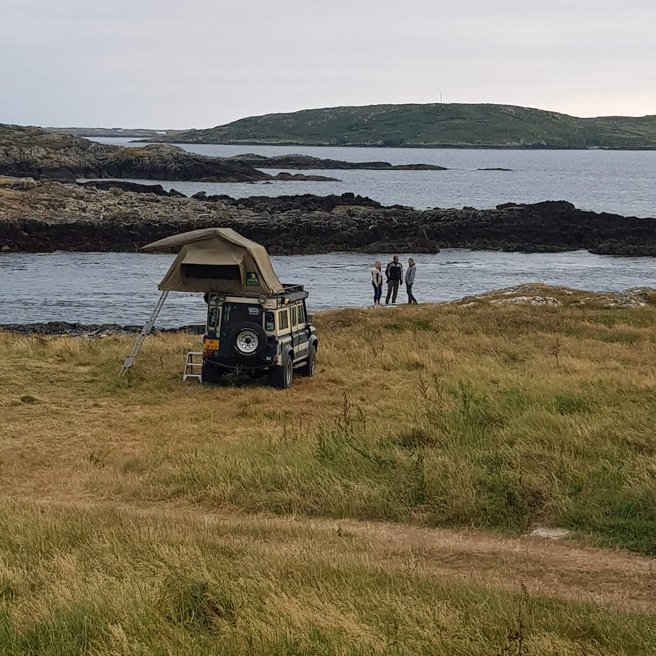 Wild Camping in Galway