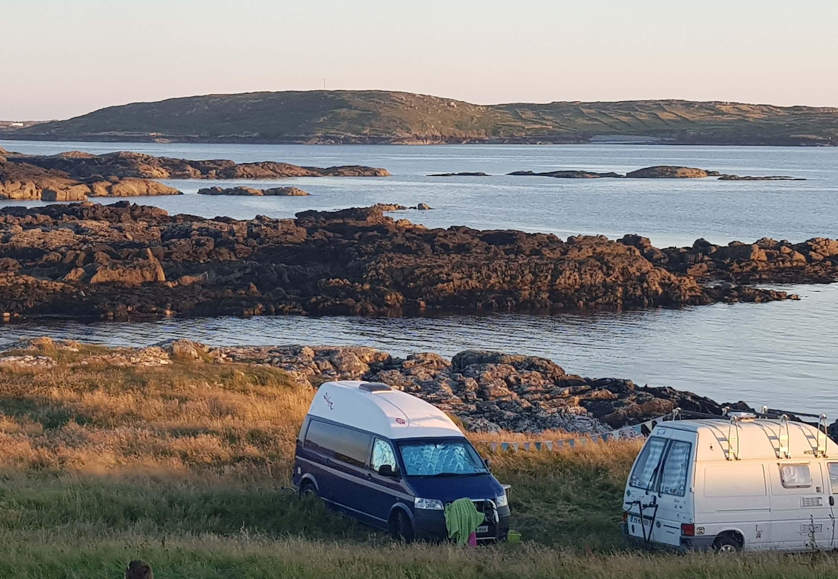 Camping in Connemara
