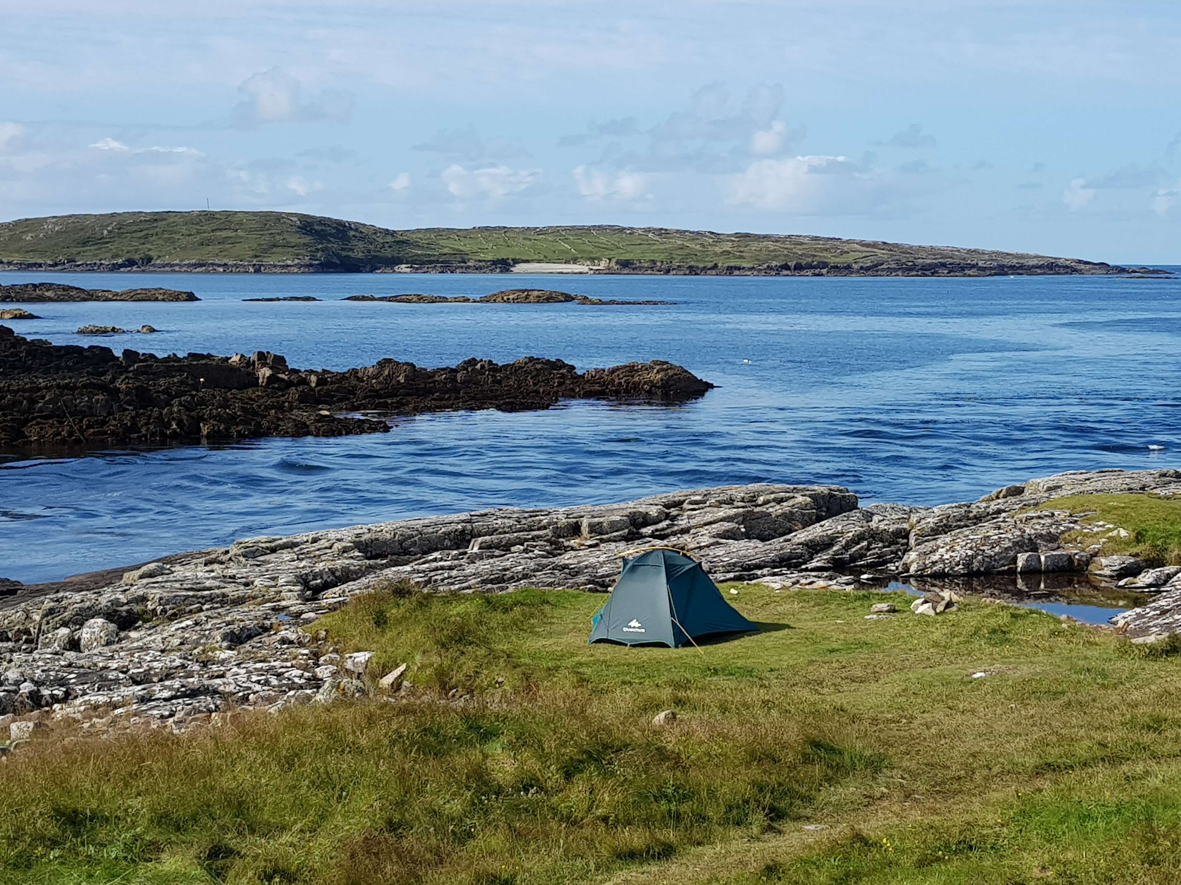Camping on the Wild Atlantic Way