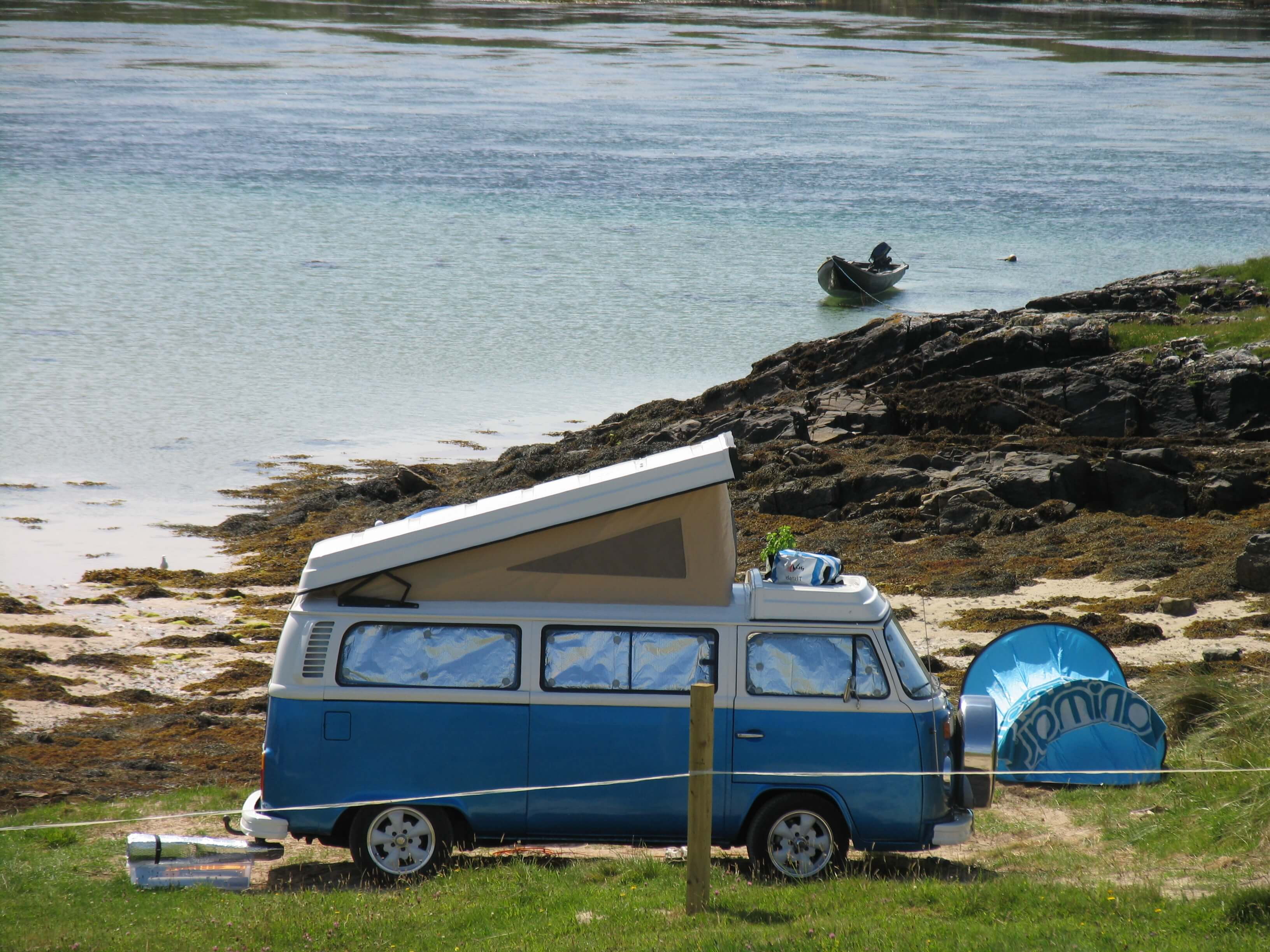 Campervan on the Wild Atlantic Way