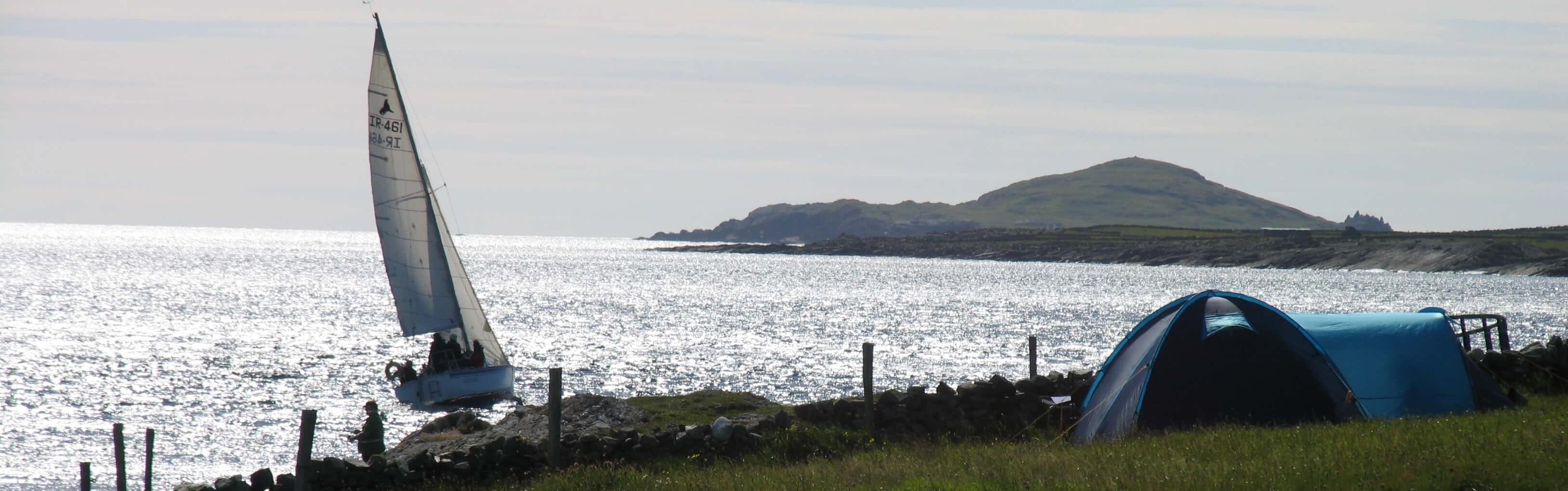 Sea Views at Clifden Eco Beach