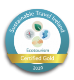 Sustainable Travel Ireland Certified Gold